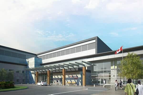 Providence Care Hospital Entrance