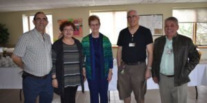 Retirees with a combined 131 years of service celebrated