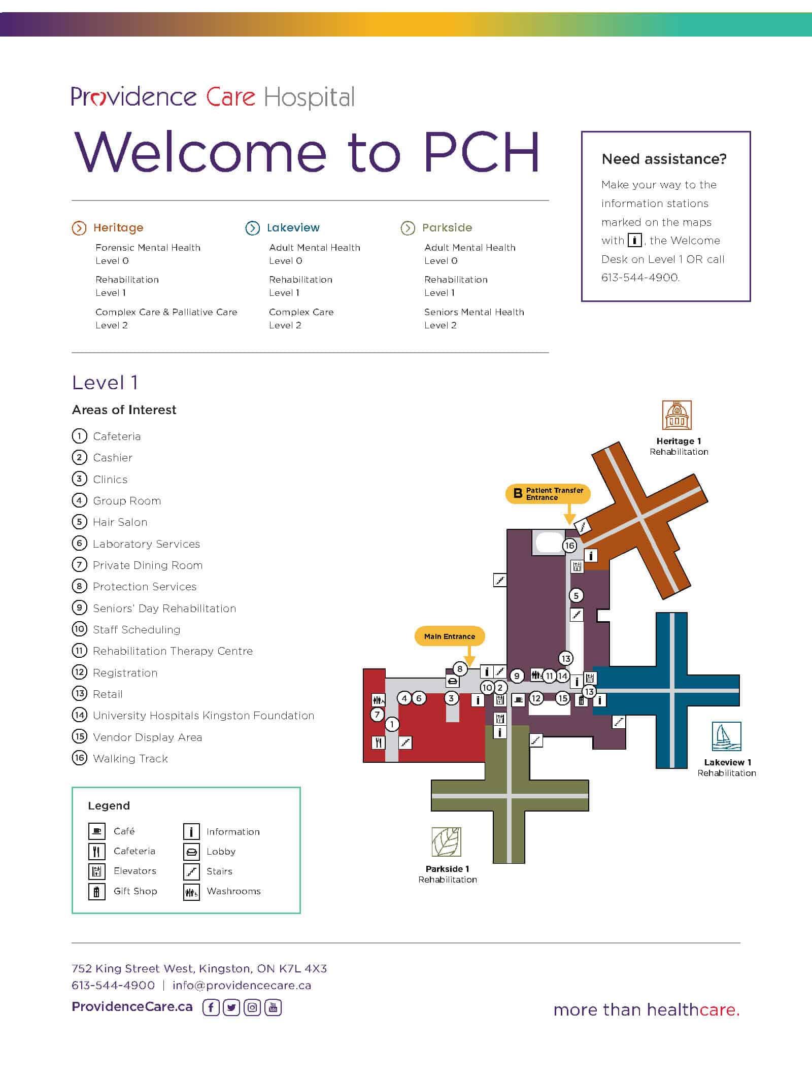 Hospital Maps - Providence Care