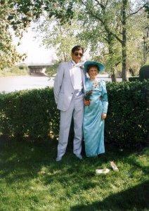 Jim and Helen's wedding